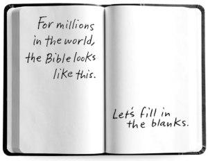 blank bible image