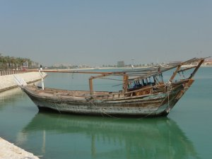 dhow by water